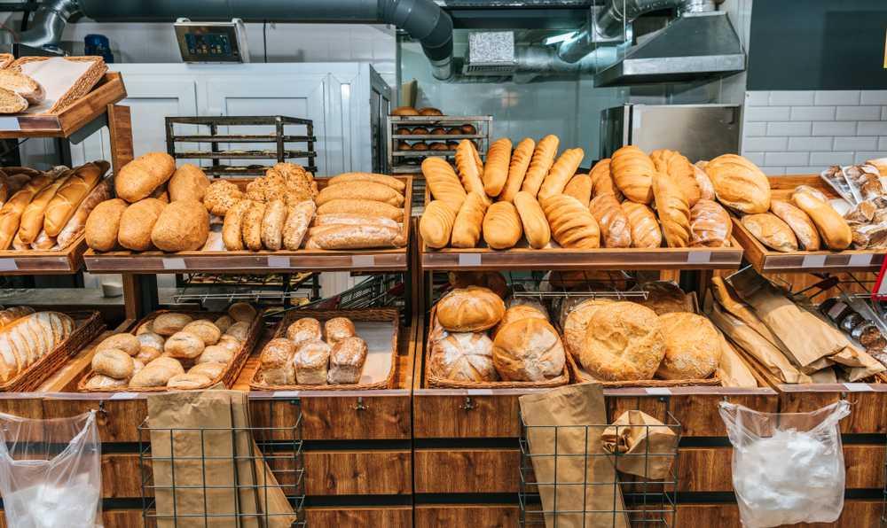 ekmek alirken