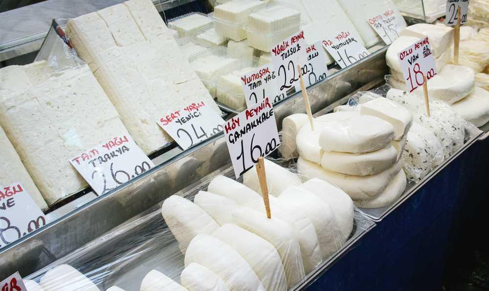 peynir secerken