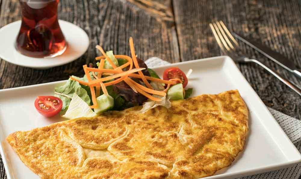 omlet yapimi