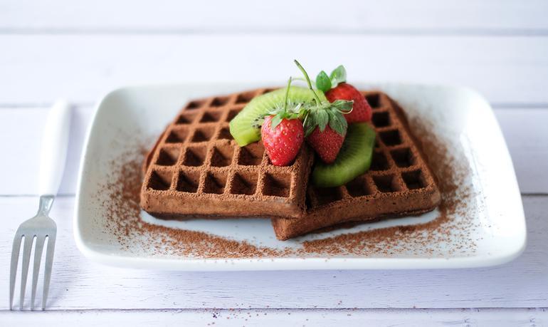 Vicdanınızı Sızlatmayacak Tatlı: Diyet Waffle