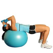 Dumbbell Triceps Extensions On Ball