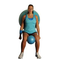 Wall Squats With Medicine Stability Balls