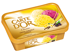Carte d'Or Limon, Karadut, Vanilya