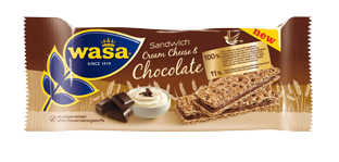 Wasa Sandwich Cream Cheese and Chocolate