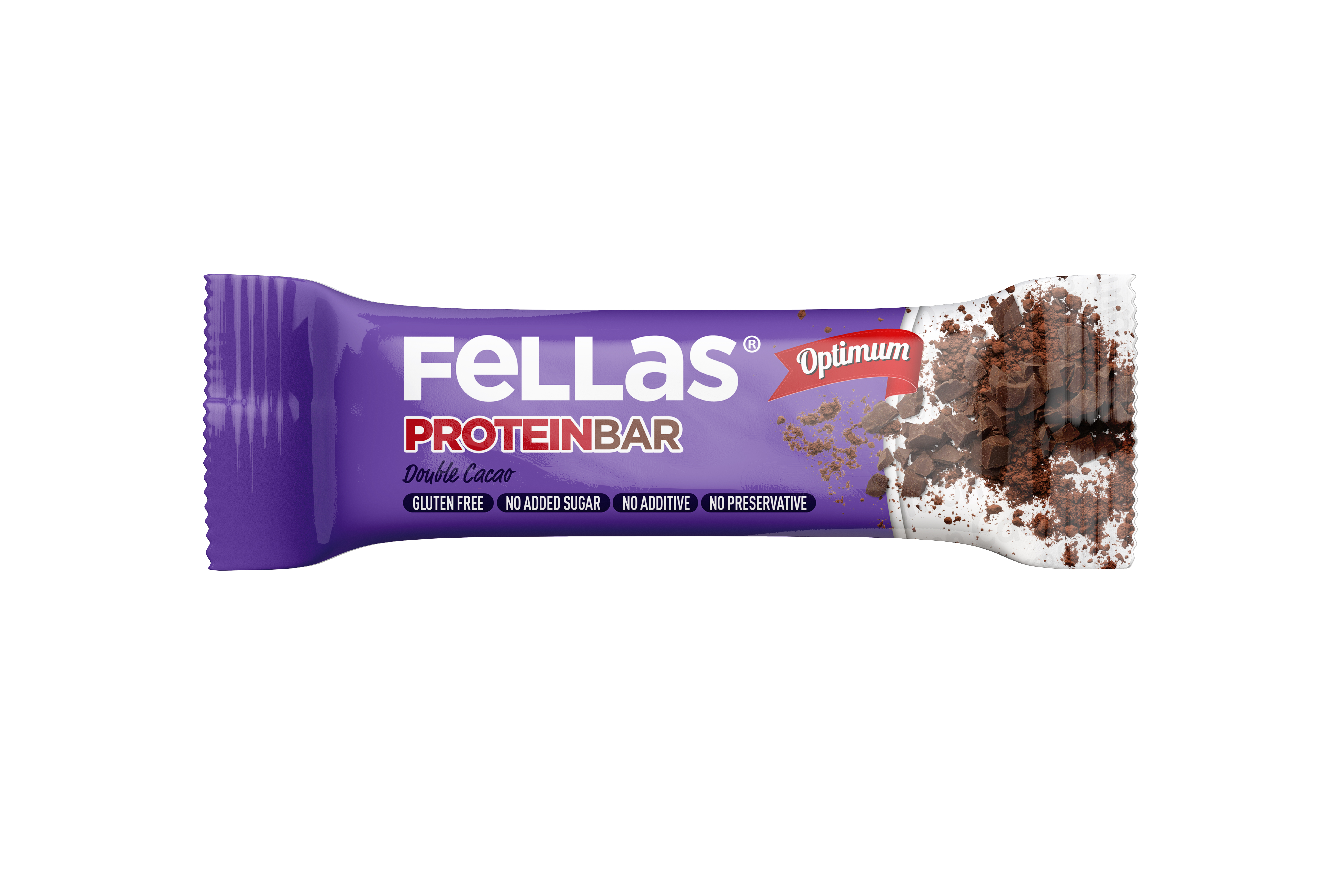 Fellas Optimum Protein Bar - Duble Kakao