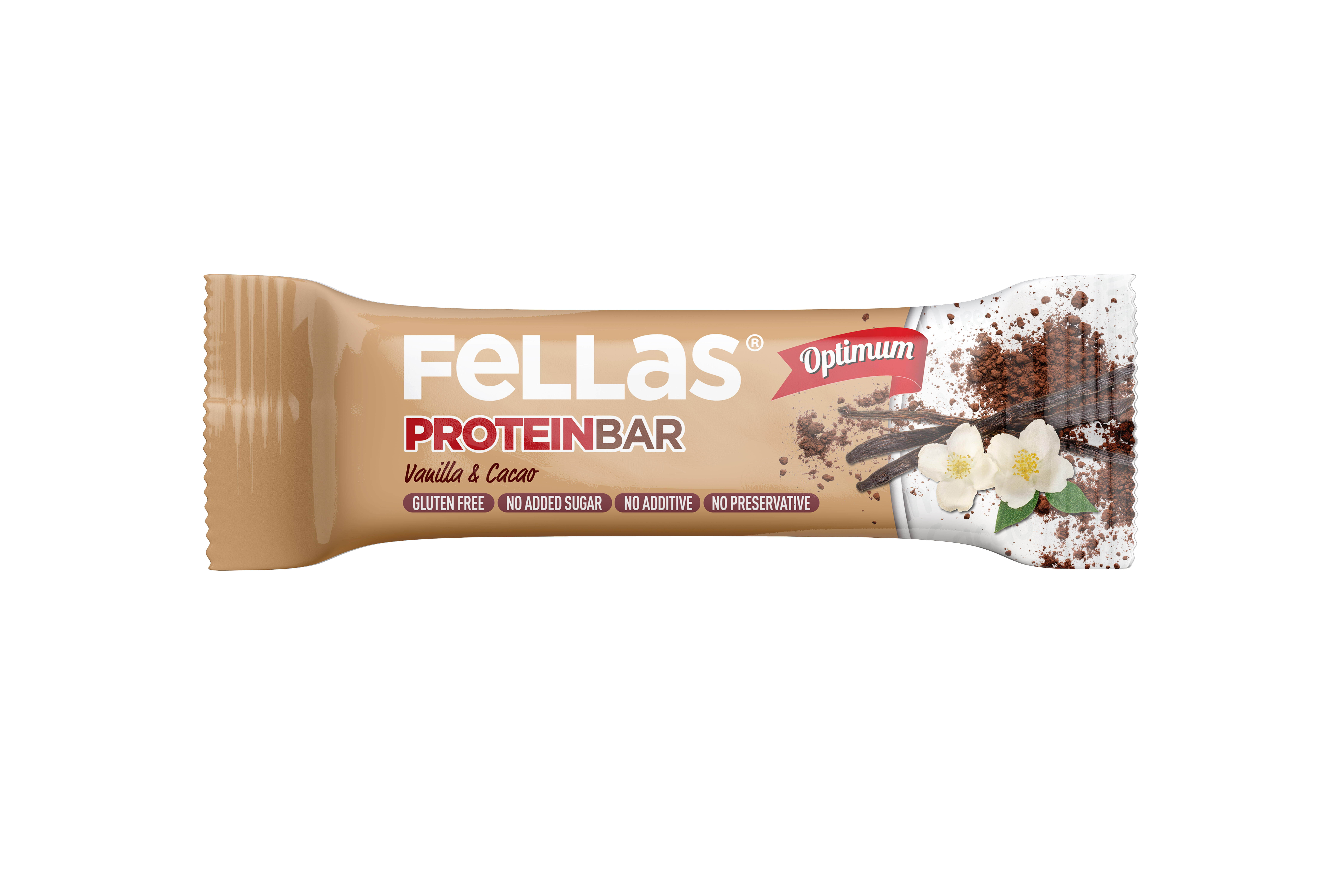 Fellas Optimum Protein Bar - Vanilya & Kakao