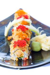 Cruchy Shrimp Sushi Roll