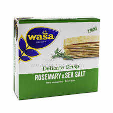 Wasa Delicates Thin Rosemary and Seasalt