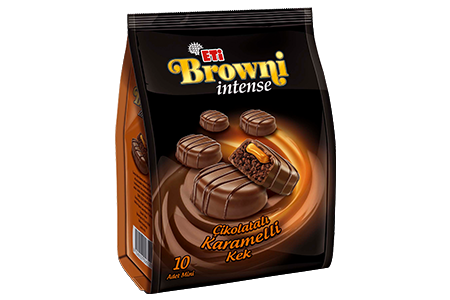 Brownie Intense Mini Karamelli