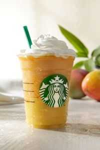 Starbucks Mango Passion Fruit Frappuccino