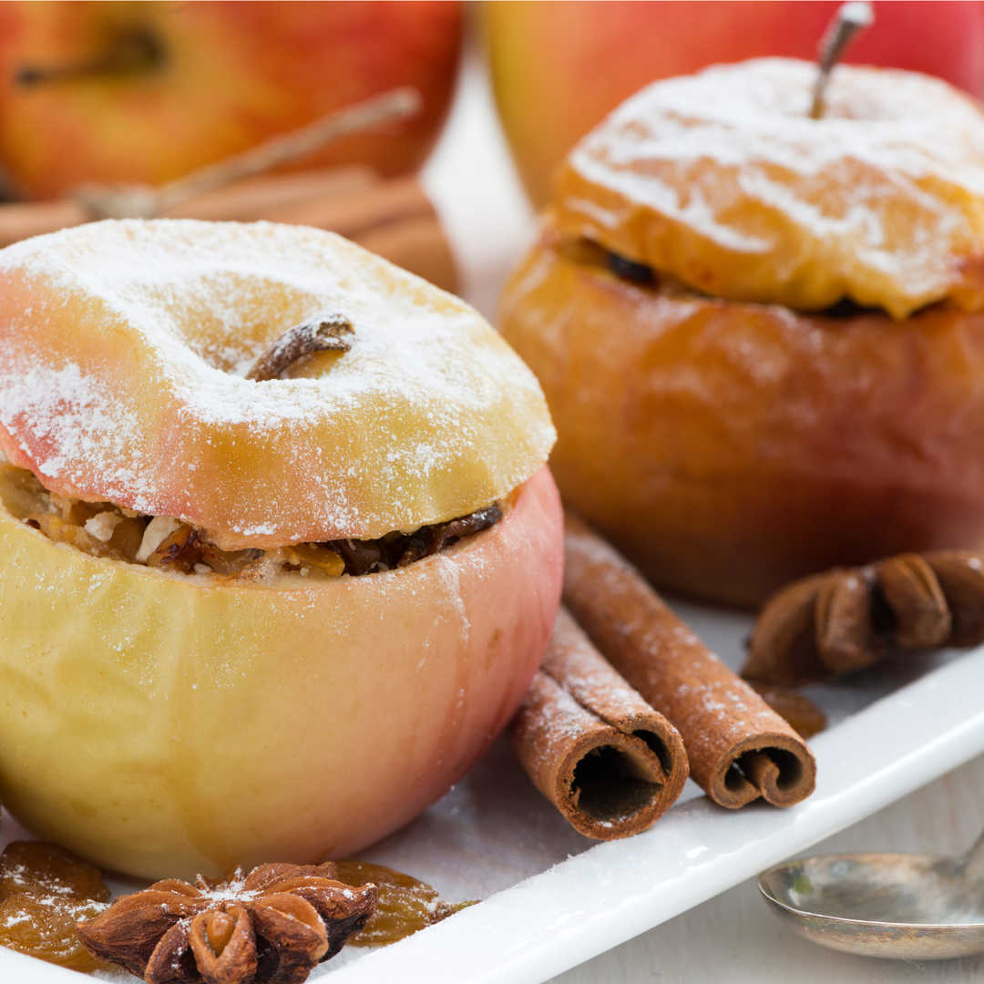 Cevizli Elma Tatlısı