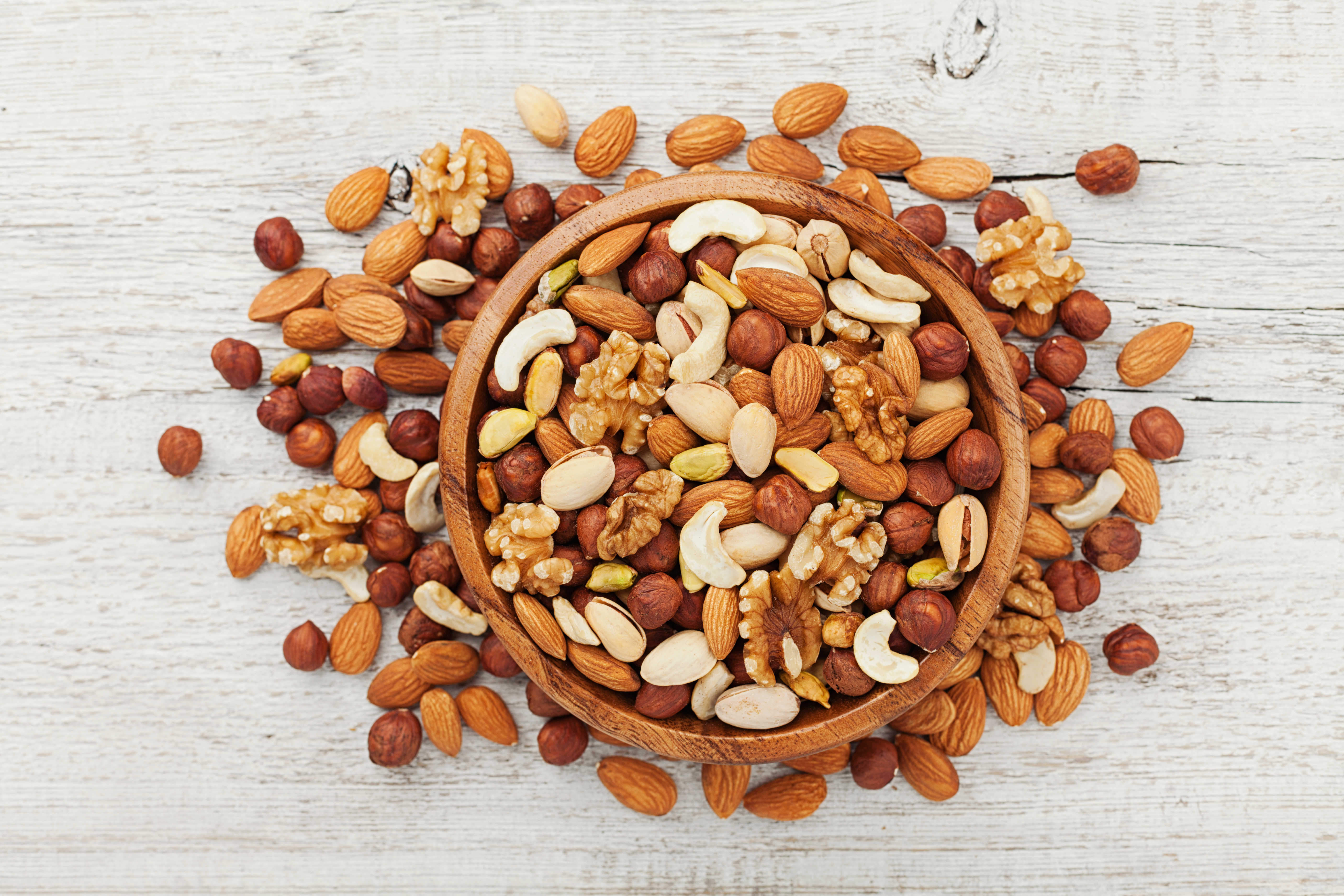 Kalori Cetveli – Kuruyemiş ve Tohumlar